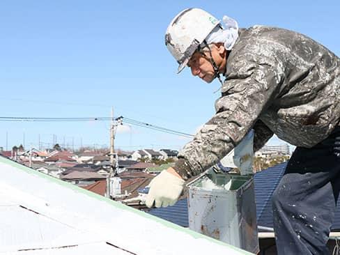屋根塗装|横浜市戸塚区の塗装専門店 倉本塗装店の施工メニュー