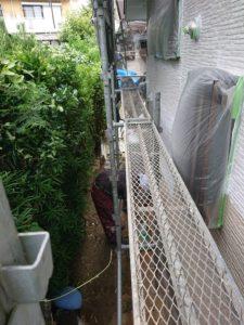 横浜市栄区にて外壁塗装工事