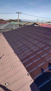 屋根塗装下塗り錆止め