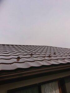 大屋根仕上げ